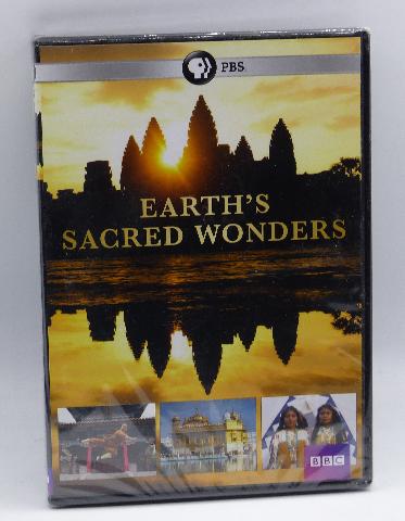 EARTHS SACRED WONDERS DVD NEW SEALED