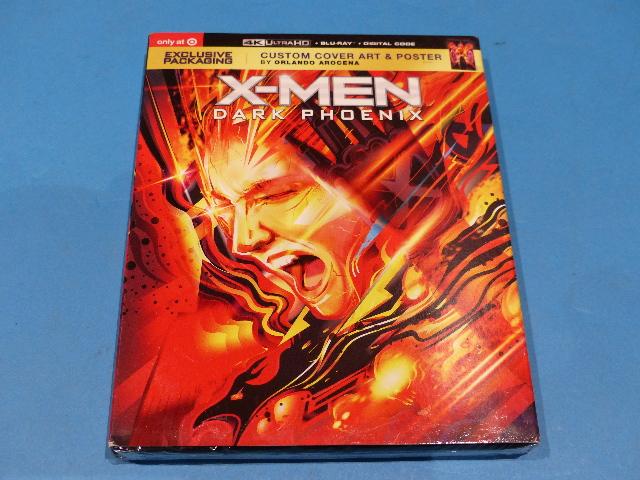 X-MEN DARK PHOENIX 4K ULTRA HD + BLU-RAY + DIGITAL NEW SEALED