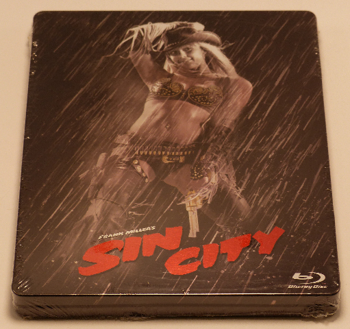 SIN CITY LIMITED STEELBOOK EDITION BLU-RAY NEW SEALED
