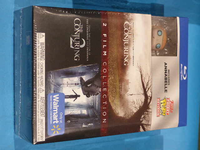 THE CONJURING 2 FILM COLLECTION WALMART ONLY THE CONJURING/ THE CONJURING 2 INCL
