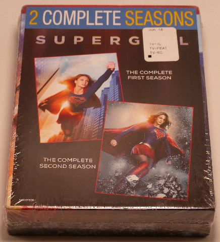 SUPERGIRL COMPLETE 1ST & 2ND SEASONS DVD NEW SEALED