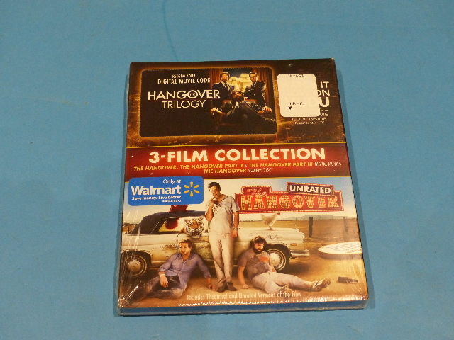 THE HANGOVER TRILOGY BLU-RAY NEW SEALED