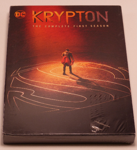 KRYPTON THE COMPLETE FIRST SEASON DVD  NEW SEALED