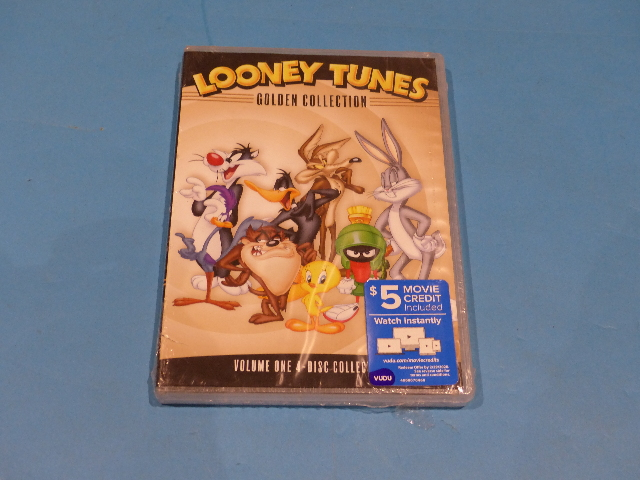 LOONEY TUNES GOLDEN COLLECTION VOLUME 1 (VOLUME ONE) DVD  NEW SEALED