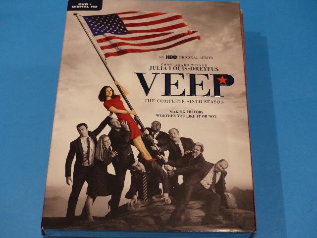 VEEP THE COMPLETE SIXTH SEASON DVD + DIGITAL HD WITH JACKET NEW
