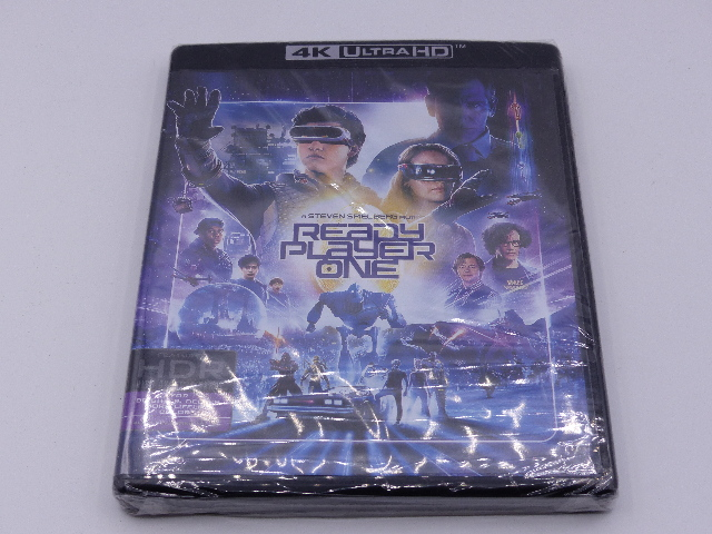 READY PLAYER ONE 4K ULTRA HD NEW