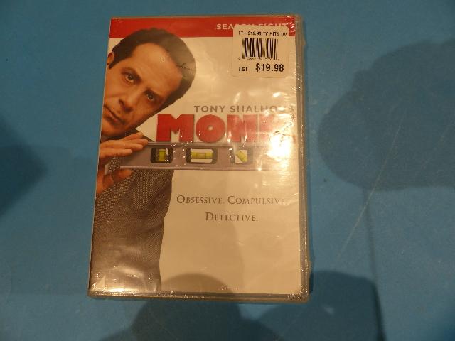 MONK DVD NEW