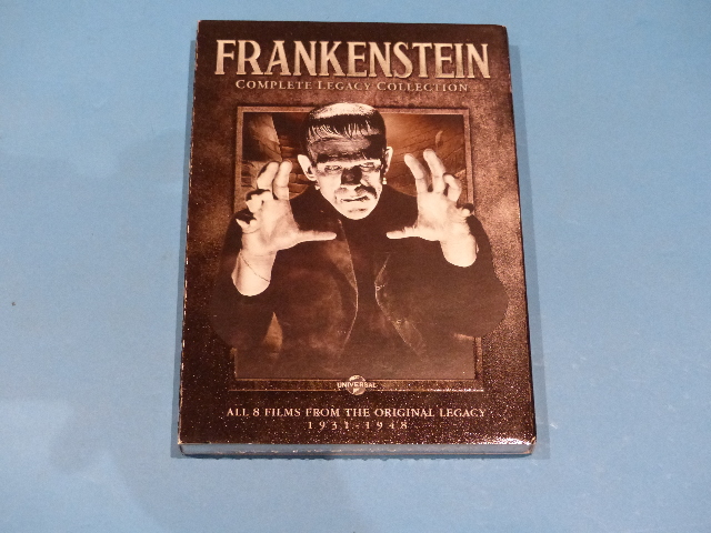 FRANKENSTEIN COMPLETE LEGACY COLLECTION WITH COVER DVD NEW SEALED