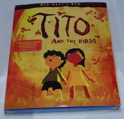 TITO & THE BIRDS BLU-RAY + DVD NEW SEALED