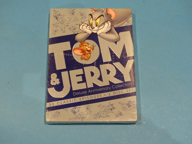 TOM & JERRY DELUXE ANNIVERSARY COLLECTION DVD NEW SEALED