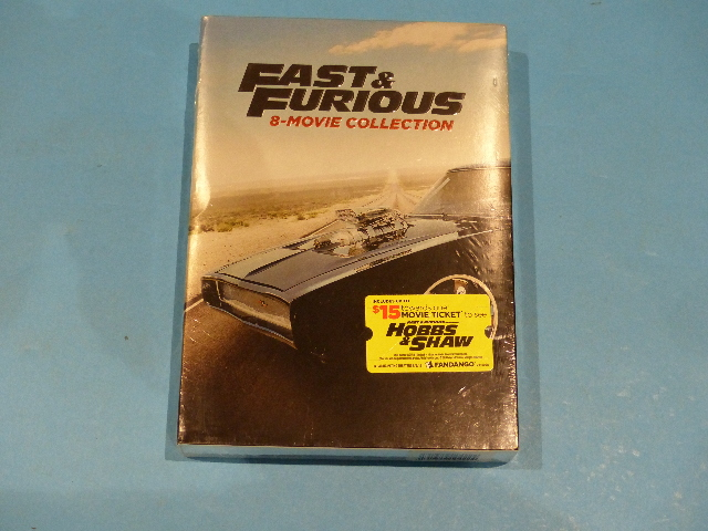 FAST & FURIOUS 8-MOVIE COLLECTION DVD NEW SEALED