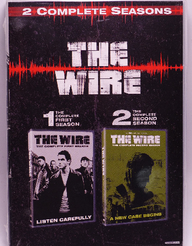 THE WIRE SEASONS ONE-TWO (SEASONS 1 & 2) DVD NEW SEALED