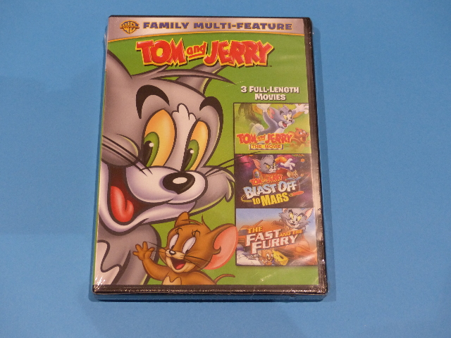 TOM AND JERRY DVD NEW