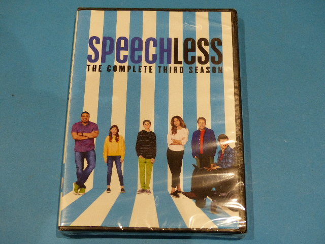 SPEECHLESS THE COMPLETE THIRD SEASON DVD (SEASON 3) NEW SEALED