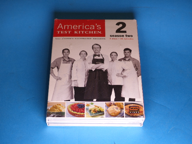 AMERICAS TEST KITCHEN SEASON TWO (SEASON 2) DVD NEW