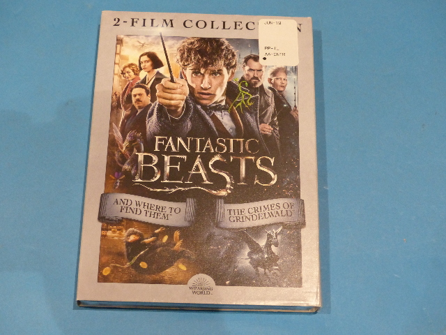 FANTASTIC BEASTS 2-FILM COLLECTION DVD NEW SEALED