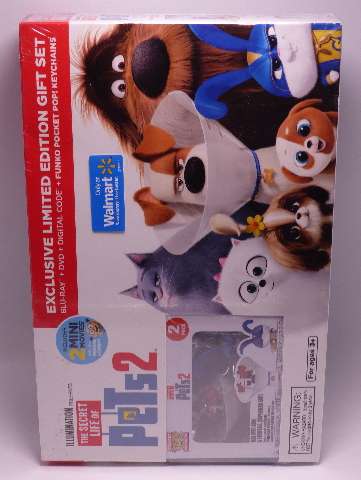 THE SECRET LIFE OF PETS 2 EXCLUSIVE LIMITED EDITION GIFT SET W/ MINI MOVIES