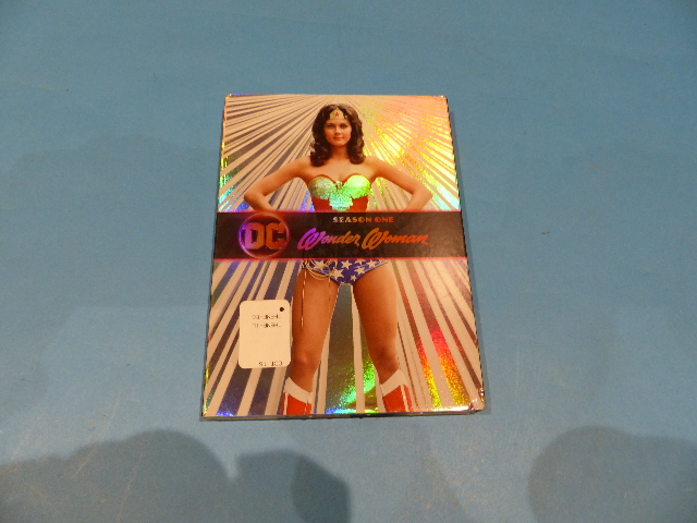 WONDER WOMAN TELEVISION SERIES SEASON ONE - DVD NEW SEALED