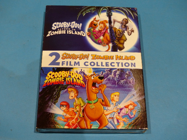 SCOOBY-DOO ZOMBIE ISLAND 2 FILM COLLECTION WITH COVER DVD NEW SEALED