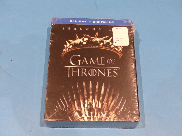 GAME OF THRONES SEASONS ONE AND TWO (SEASONS 1 & 2) BLU-RAY  NEW SEALED