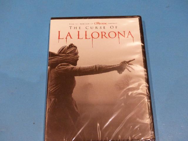 THE CURSE OF LA LLORONA DVD NEW SEALED