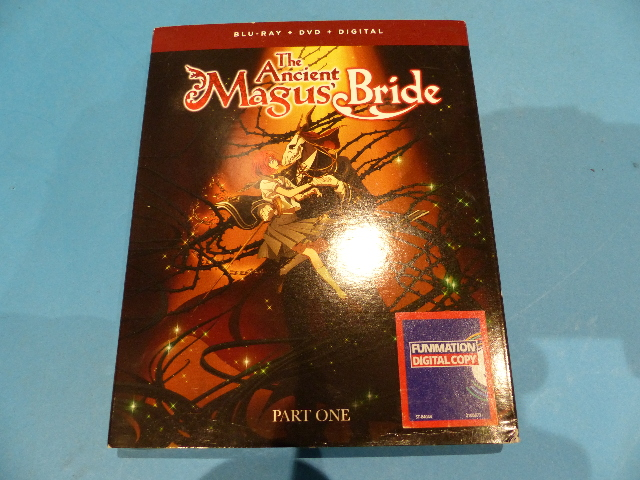THE ANCIENT MAGUS BRIDE: PART ONE BLU-RAY + DVD + DIGITAL W/SLIPCOVER NEW
