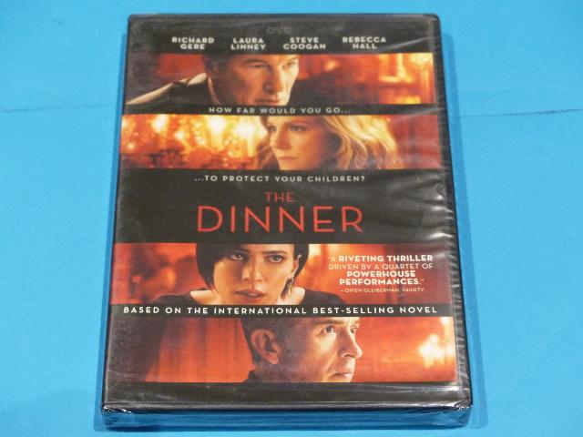 THE DINNER DVD NEW