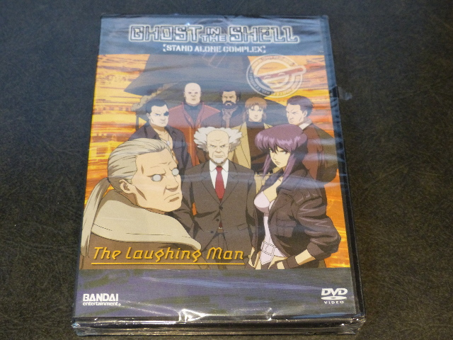 GHOST IN THE SHELL STAND ALONE COMPLEX LAUGHING MAN DVD NEW SEALED