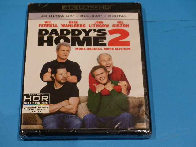 DADDYS HOME 2 4K ULTRA HD + BLU-RAY + DIGITAL NEW