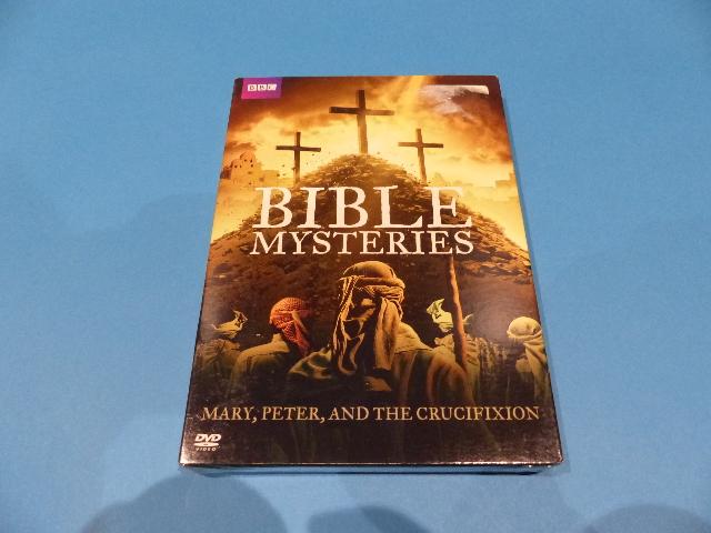 BIBLE MYSTERIES (BBC) DVD SET NEW W/ SLIP