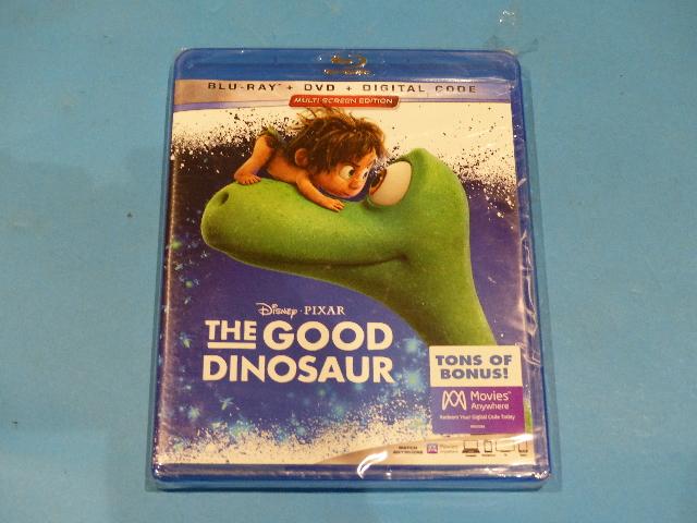 THE GOOD DINOSAUR BLU-RAY + DVD + DIGITAL NEW SEALED