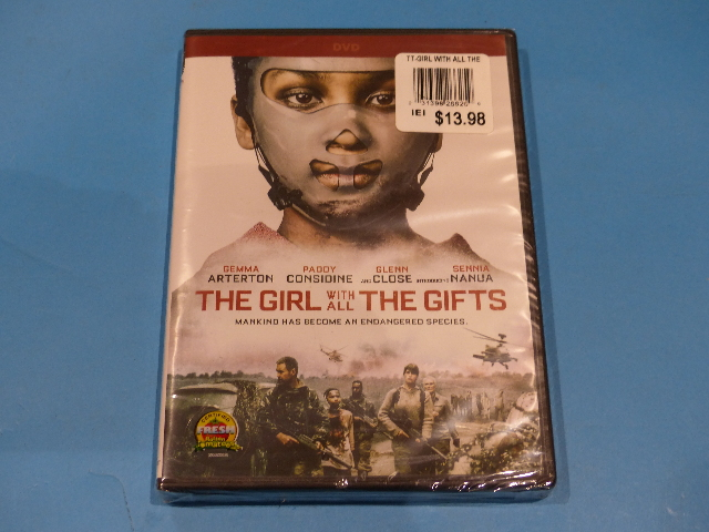 THE GIRL WITH ALL THE GIFTS DVD NEW