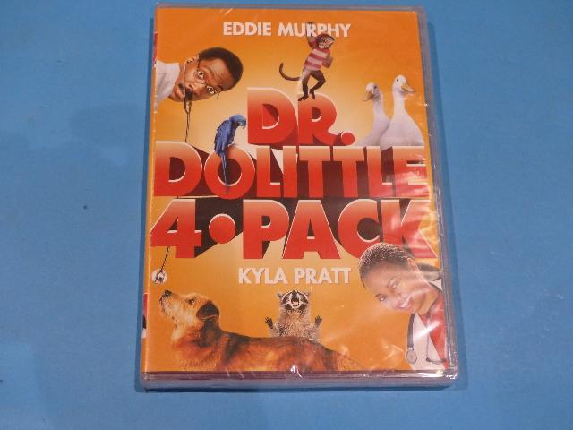 DR DOLITTLE 4-PACK DVD NEW SEALED