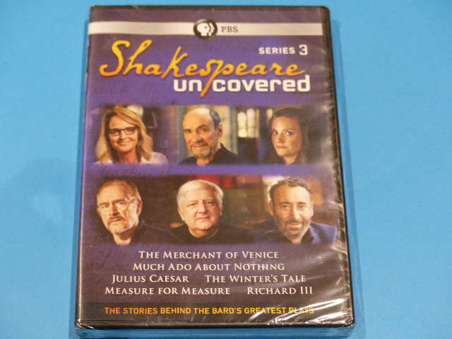 SHAKESPEARE UNCOVERED SERIES 3 DVD NEW