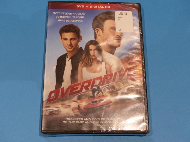 OVERDRIVE DVD + DIGITAL HD NEW