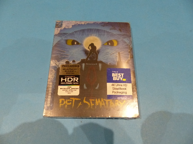 PET SEMATARY LIMITED EDITION MONDO STEELBOOK - 4K ULTRA HD + BLU-RAY + DIGITAL N