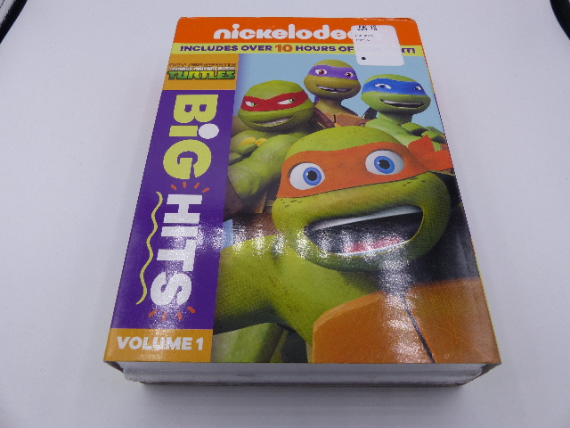 NICKELODEON TALES OF THE TEENAGE MUTANT NINJA TURTLES BIG HITS VOLUME ONE DVD NE