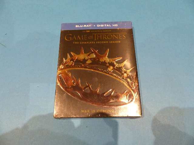 GAME OF THRONES THE COMPLETE SECOND SEASON - BLU-RAY + DIGITAL HD NEW SEALED