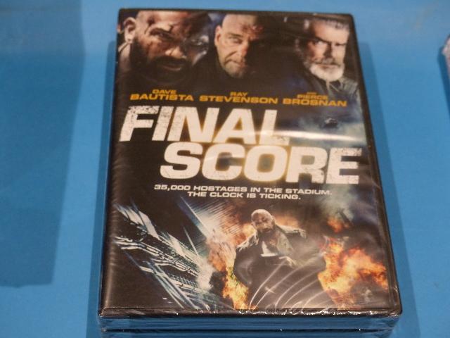 FINAL SCORE DVD NEW