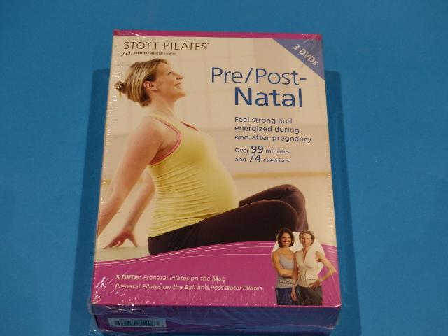 STOTT PILATES PRE/POST NATAL 3 DVD SET DVD  NEW
