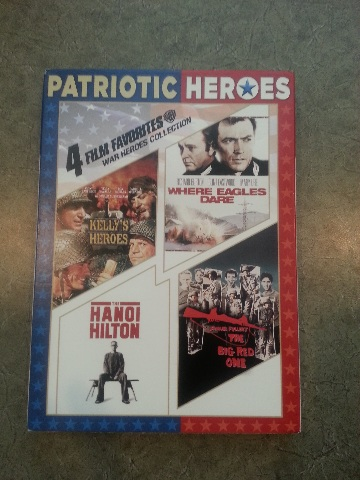 4 FILM FAVORITES: WAR HEROES COLLECTION DVD NEW W/ SLIPCOVER