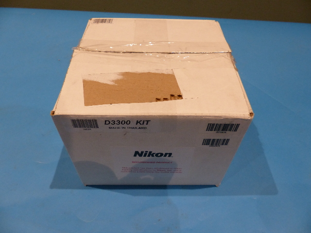 NIKON D3300 3015275 24.2MP DIGITAL SLR CAMERA