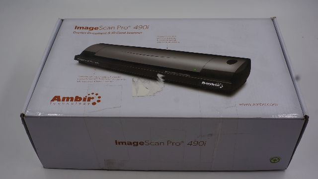 AMBIR TECHNOLOGY IMAGESCAN PRO 490I DS490-AS SCANNER