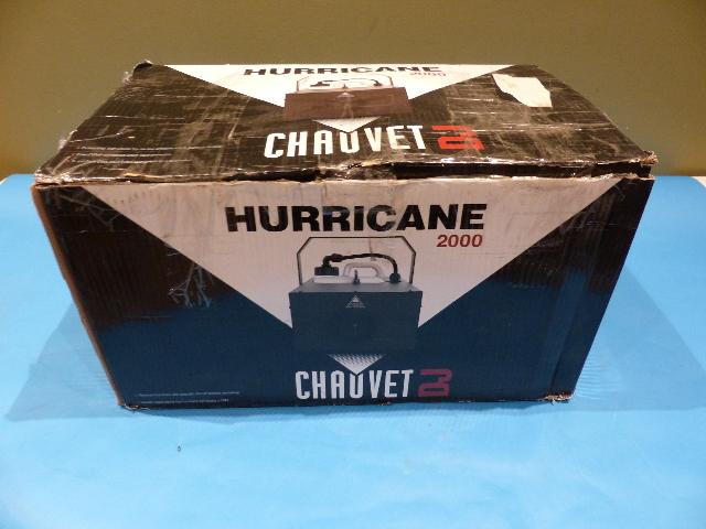 CHAUVET DJ HURRICANE 2000 5071448 FOG MACHINE
