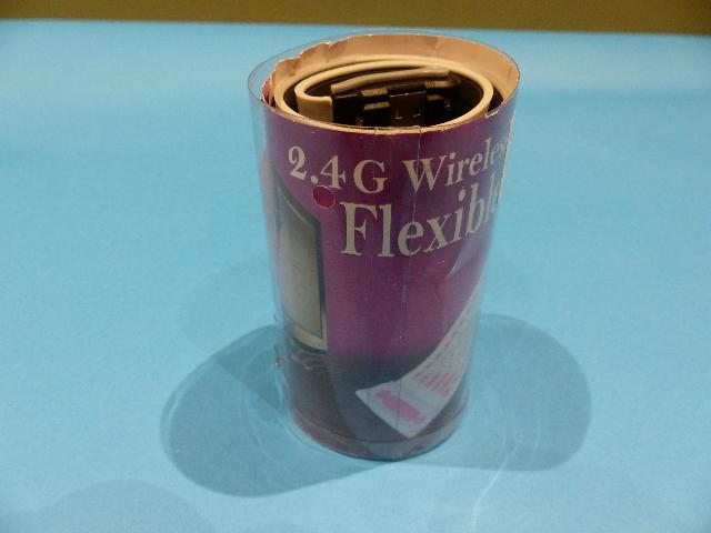 2.4G WIRELESS FLEXIBLE KEYBOARD GREY