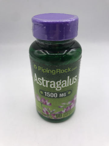 PIPING ROCK 1500 MG ASTRAGALUS 90 QUICK RELEASE CAPSULES EXP 11/2022