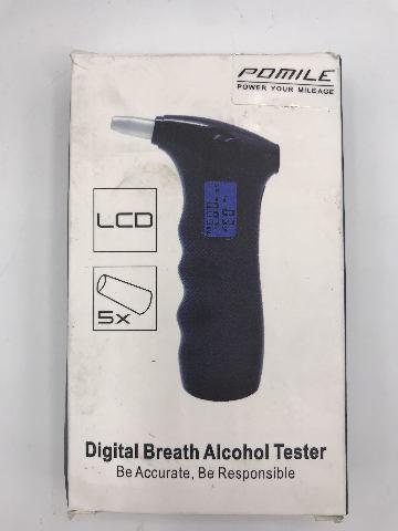 POMILE DIGITAL BREATH ALCOHOL TESTER
