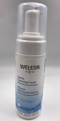 WELEDA GENTLE CLEANSING FOAM 5FL. OZ. 150 ML.
