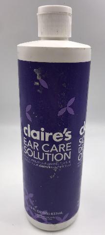 CLAIR'S EAR CARE SOLUTION 16 FL. OZ. 437 ML.