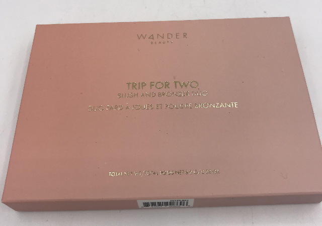 WANDER BEAUTY TRIP FOR TWO BLUSH AND BRONZER 8G. .28 OZ.